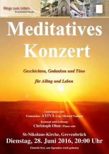 Meditatives Konzert